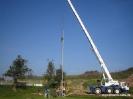 15. Oktober 2005 - Flutlichterrichtung Sportplatzbau
